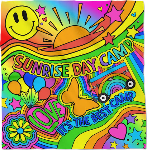 Sunrise Day Camp Bandana