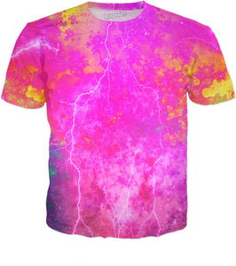 Blue And Pink Prophecy T-Shirt - TShirtsRUS.co