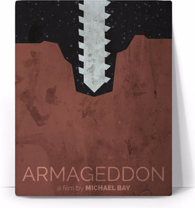 Armageddon Movie Poster Canvas - TShirtsRUS.co