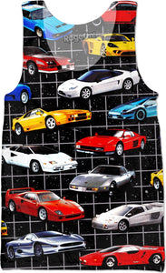 Dream Cars Tank Top