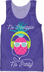 No Pineapple No Party Tank Top