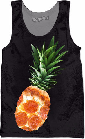 Pineapple Does Go On Pizza Tank Top