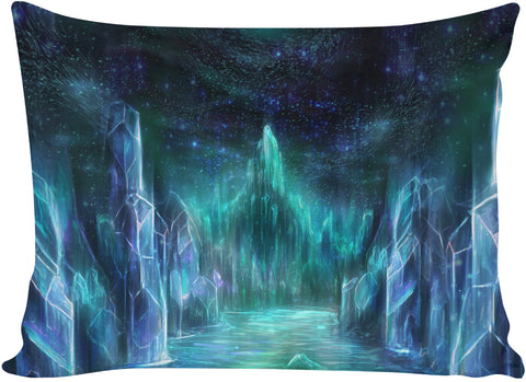 The midnight realms bed pillow