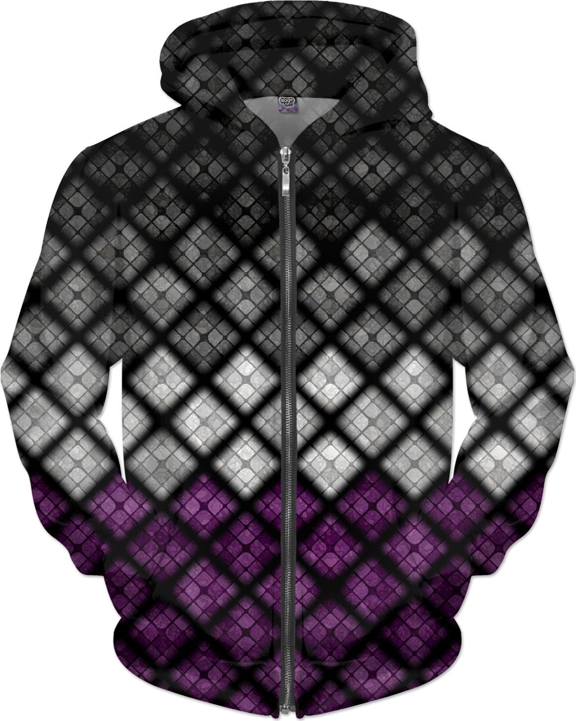 Asexual Diamond Scales Pattern