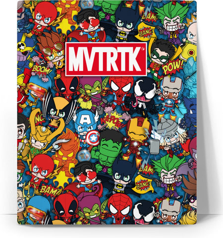 MVTRTK SUPER HEROES Canvas
