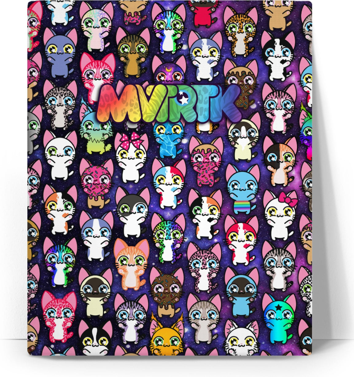 MVTRTK SPACE KITTY Canvas