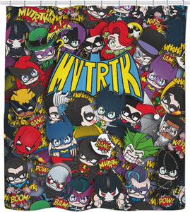 MVTRTK BATMANFAMILY Shower Curtain