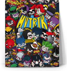 MVTRTK BATMANFAMILY Canvas