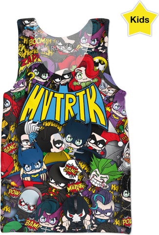 MVTRTK BATMANFAMILY Kids Tank Top