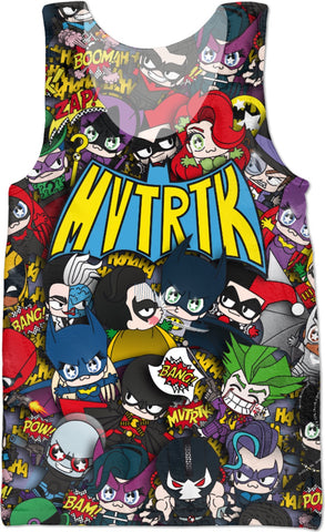 MVTRTK BATMANFAMILY Tank Top