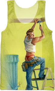 Room With A View Cheesecake Boy Tank Top