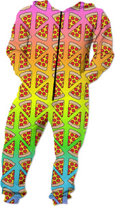 Rainbow Pizza Onesie