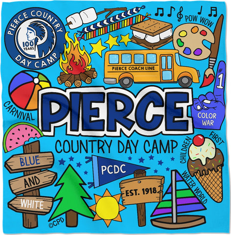 Pierce Day Camp Bandana