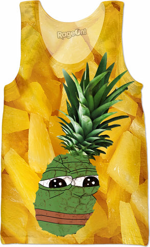 Pineapple Pepe Tank Top