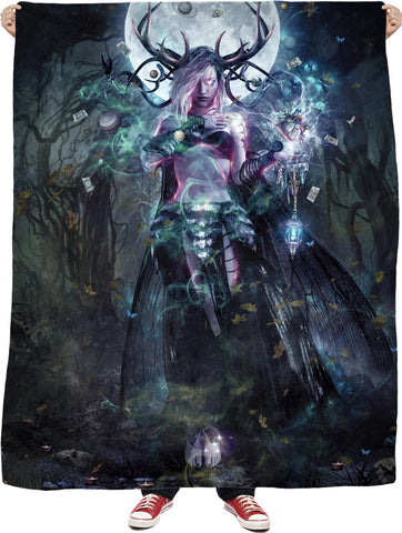 The Dreamcatcher - Fleece Blanket