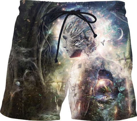 As The Dark Turns To Day - Swim Shorts