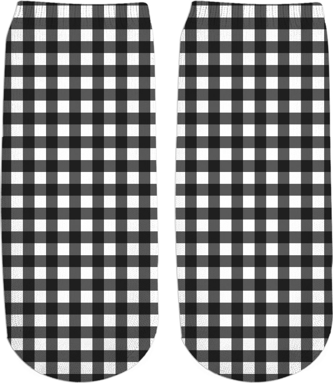 Gingham Ankle Socks