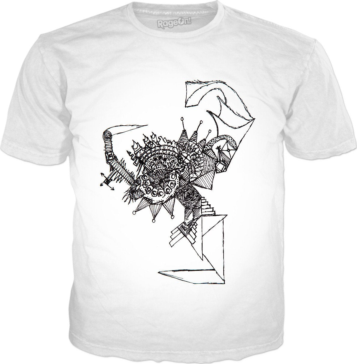 Ancient Stairway To Mysticism Classic T-Shirt White - TShirtsRUS.co