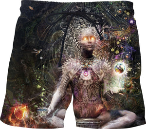 Sacrament For The Sacred Dreamers - Swim Shorts