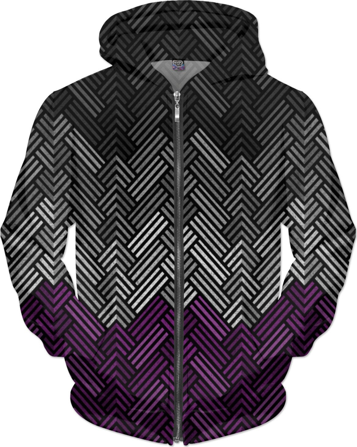 Asexual Diamond Weave Pattern