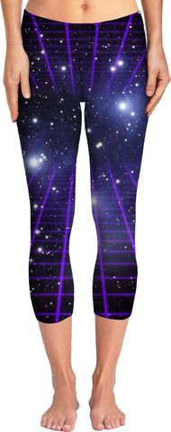 Space Grid 2 Yoga Pants