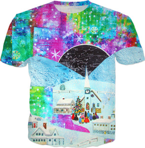Silent Night Collage T-Shirt