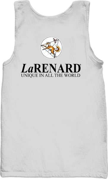 Flower of life logo & legend - LaRenard Sportswear - Grey Tank Top