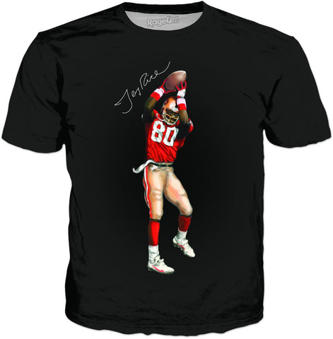 Jerry Rice Autographed T-Shirt - TShirtsRUS.co