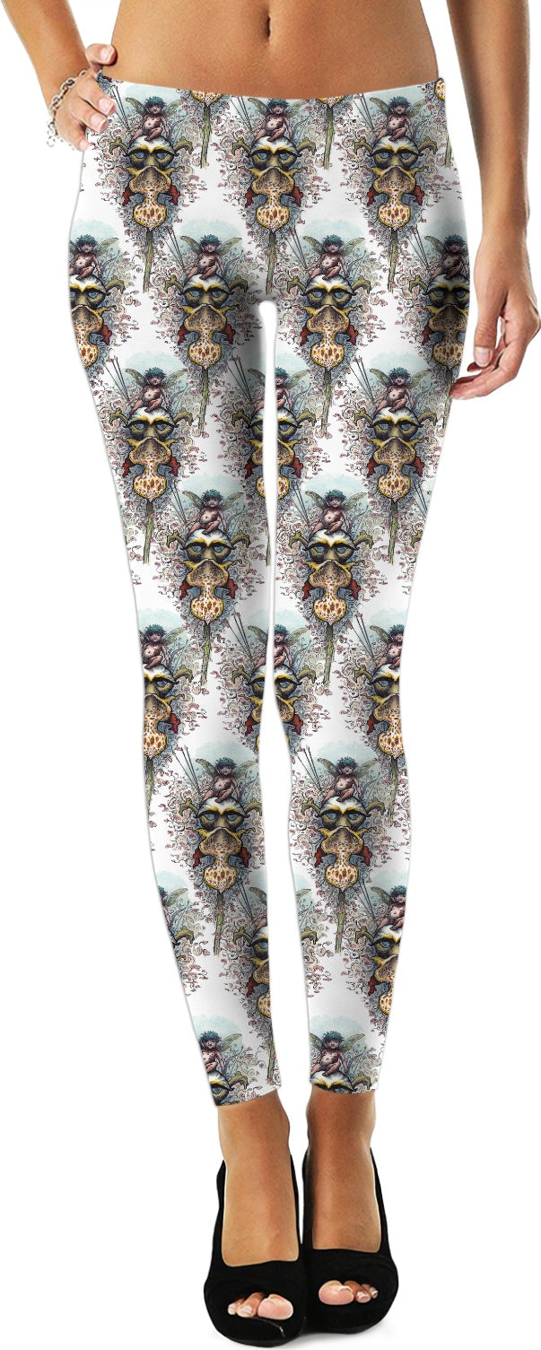 Cupid on an Orchid - English Gothic - by LaRenard - Leggings & Dress