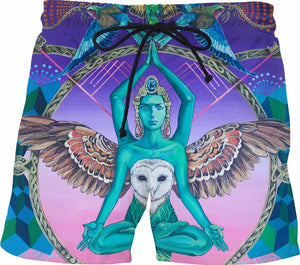 Another World's Soul - Men's Swim Shorts - TShirtsRUS.co