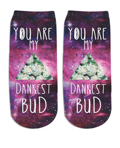 Dankest Bud Ankle Socks - TShirtsRUS.co