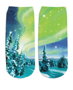 Arctic Nights Ankle Socks - TShirtsRUS.co