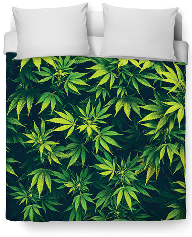 Weed Duvet Cover - TShirtsRUS.co