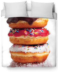 Donut V2 Duvet Cover - TShirtsRUS.co