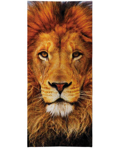 Lion Beach Towel - TShirtsRUS.co