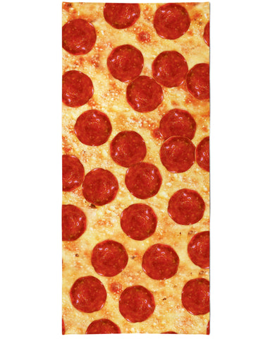 Pizza Beach Towel - TShirtsRUS.co