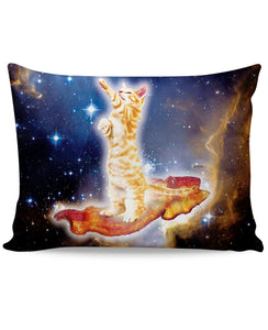 Bacon Cat Pillow Case - TShirtsRUS.co