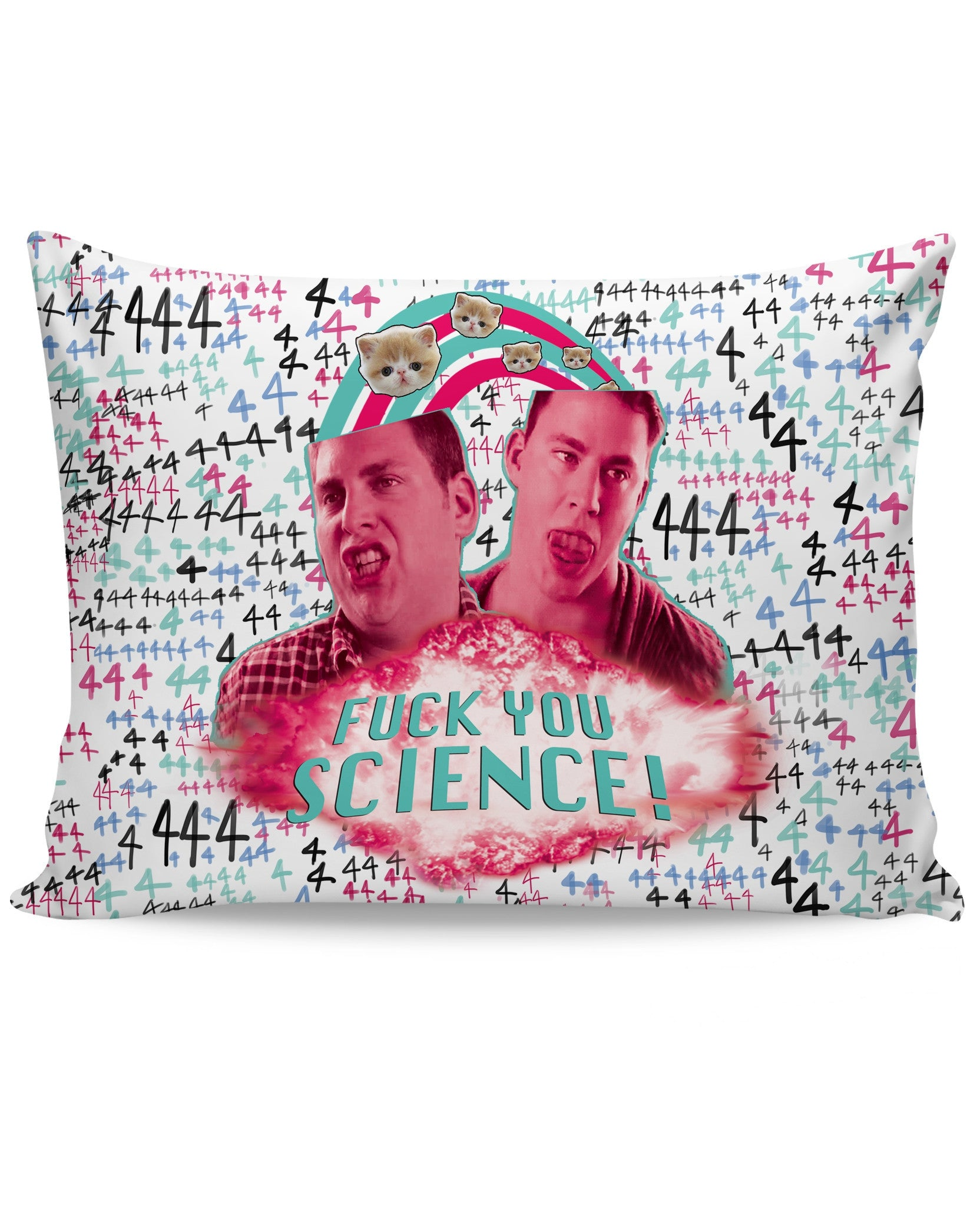 Fuck You Science Bed Pillow Case - TShirtsRUS.co