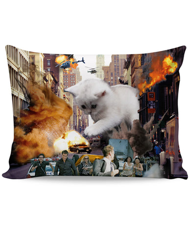 Rampage Cat Pillow Case - TShirtsRUS.co