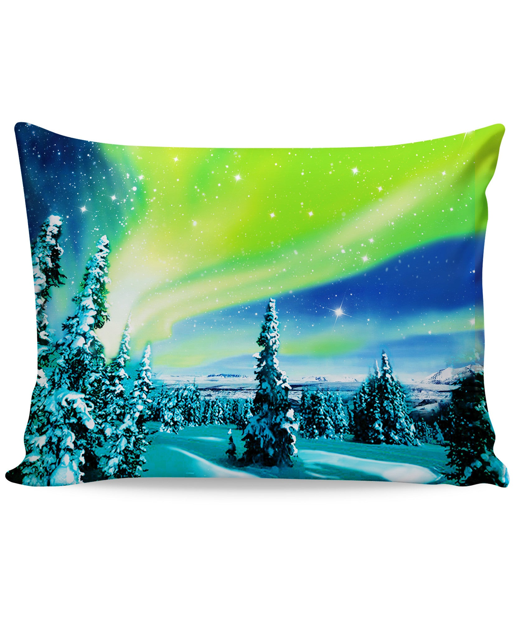 Arctic Nights Pillow Case - TShirtsRUS.co