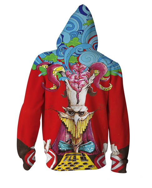 Corpus Collosum Zip-Up Hoodie - TShirtsRUS.co