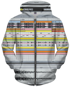 Ableton Live Zip-Up Hoodie - TShirtsRUS.co