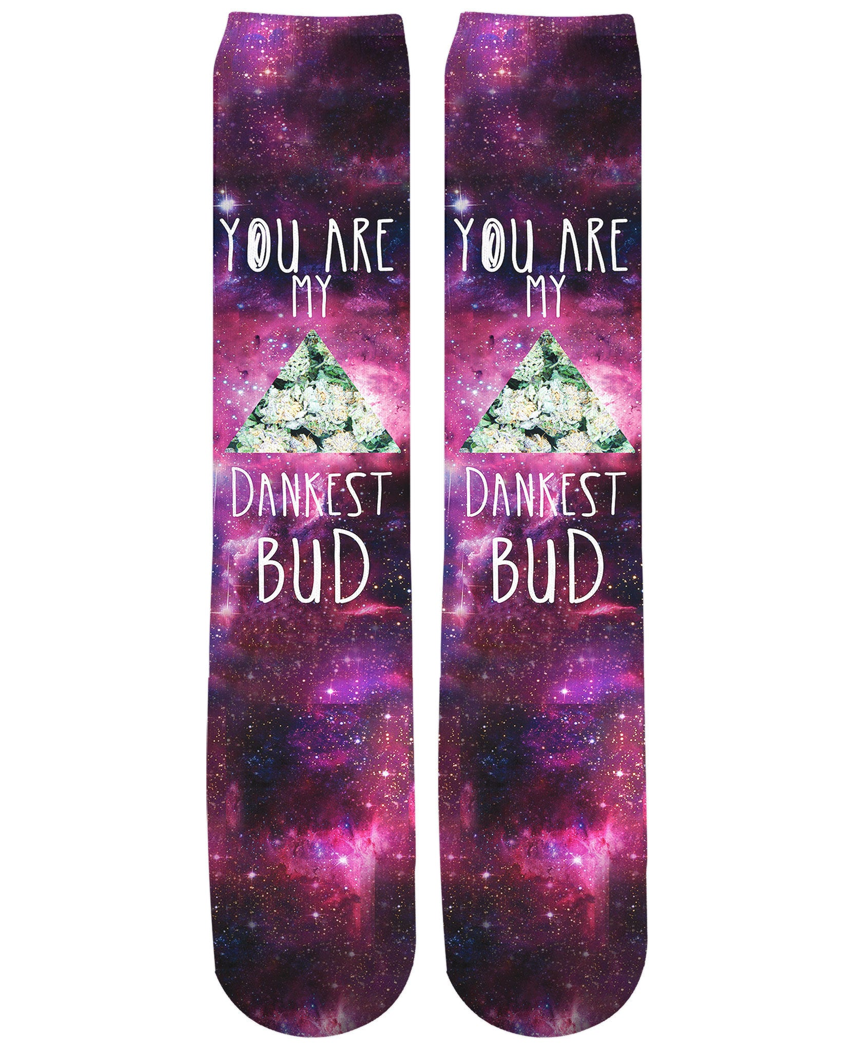 Dankest Bud Knee-High Socks - TShirtsRUS.co