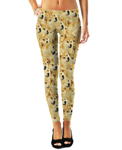 Doge V2 Leggings - TShirtsRUS.co