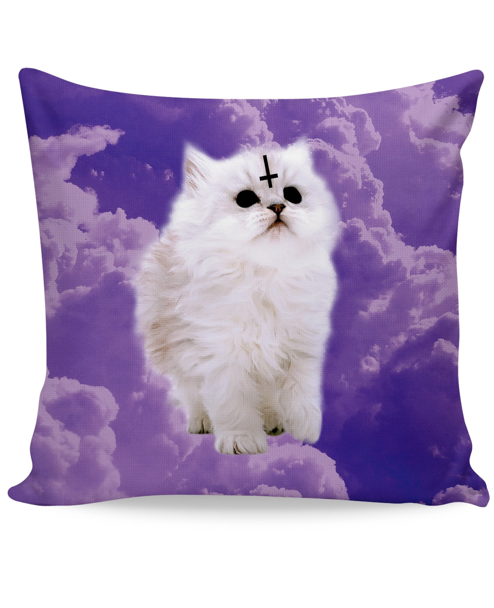 Satan Cat Couch Pillow