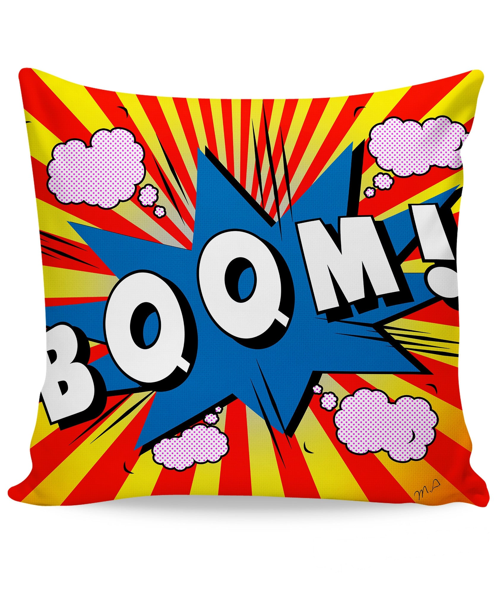 Boom Couch Pillow - TShirtsRUS.co