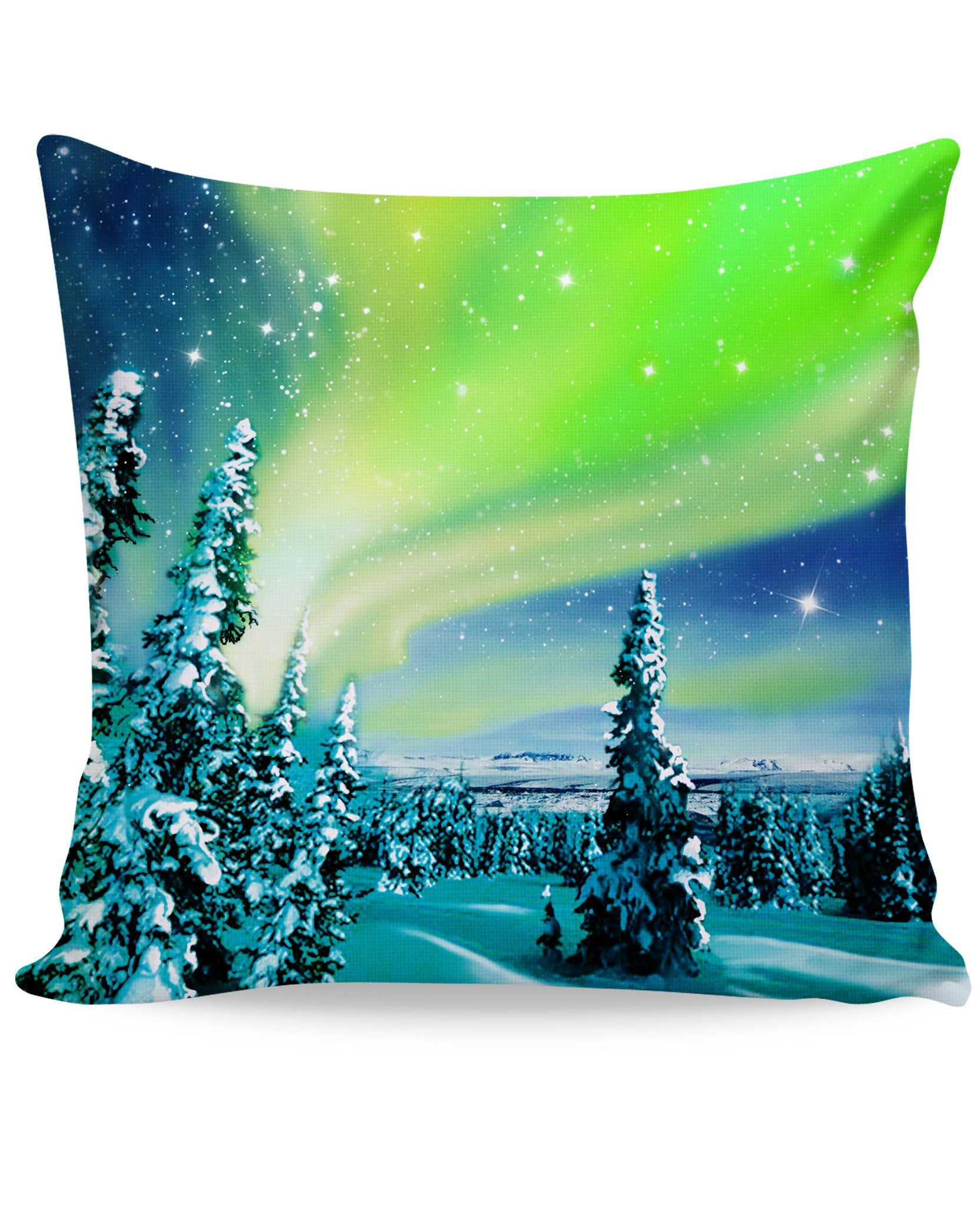 Arctic Nights Couch Pillow - TShirtsRUS.co