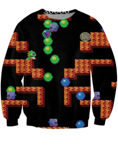 Bubble Bobble Crewneck Sweatshirt - TShirtsRUS.co