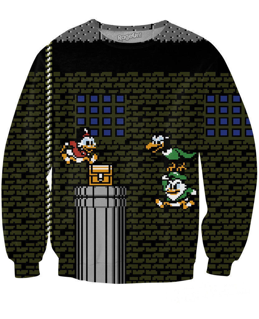 Duck Tales Crewneck Sweatshirt - TShirtsRUS.co
