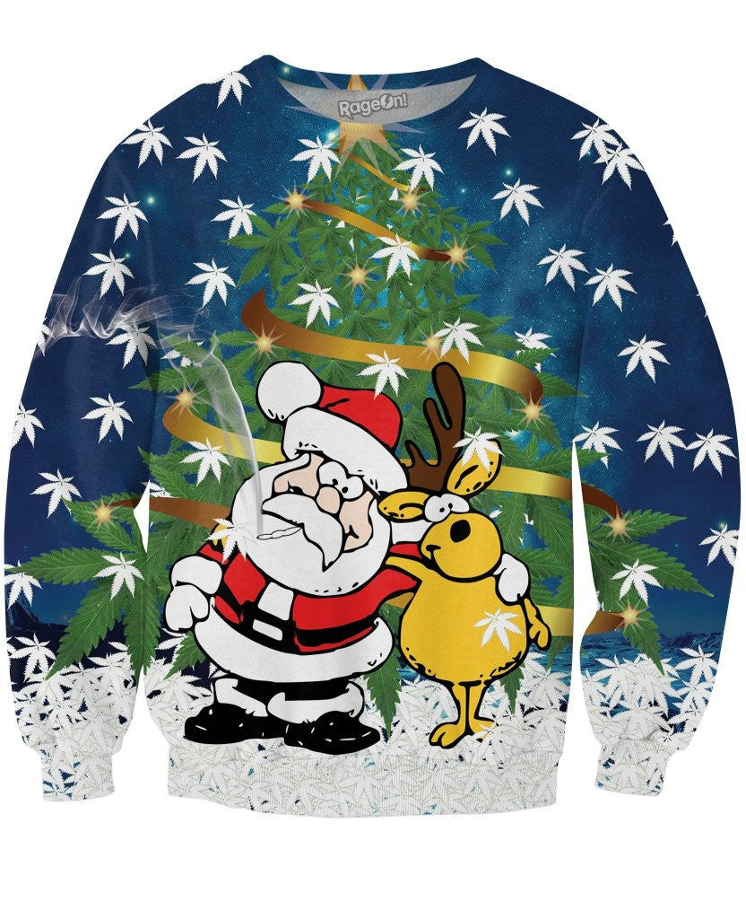 Christmas Trees Crewneck Sweatshirt - TShirtsRUS.co